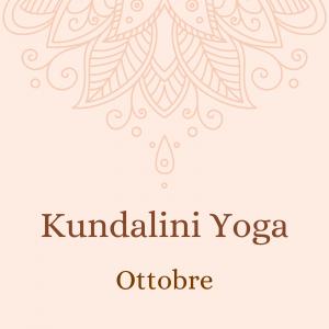 Kundalini Yoga – ottobre