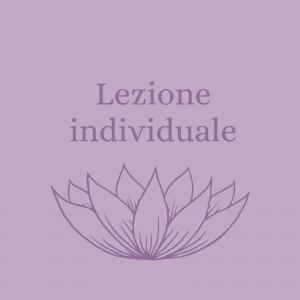 Lezione individuale (acquisto)