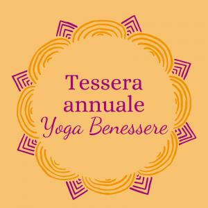 Tessera annuale Yoga Benessere