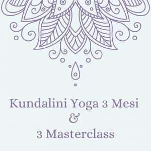 Kundalini Yoga 3 Mesi & 3 Masterclass